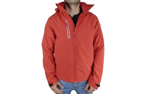 Mens Red Softshell Jacket